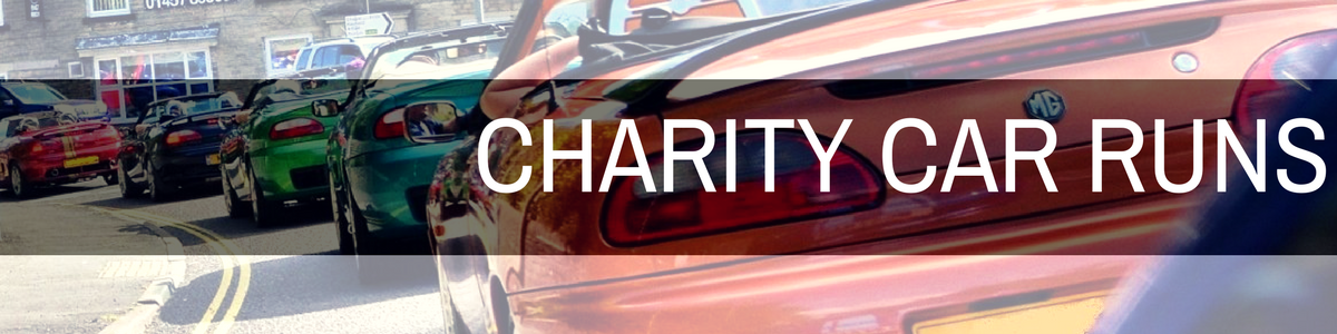 Charity Car Runs at MGFnTFBITZ
