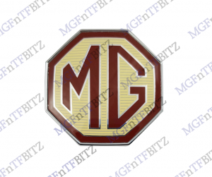 MG TF Front & Rear Badge DAB000160