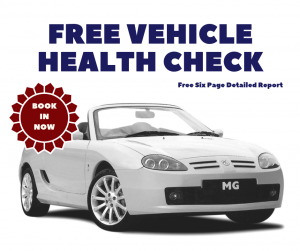Free Vehicle Health Check at MGFnTFBITZ