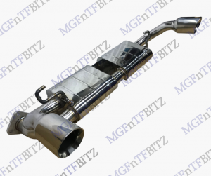 GT Sports Stainless Exhaust at MGFnTFBITZ Glossop