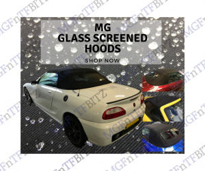 MGF MG TF Glass Screen Hoods at MGFnTFBITZ