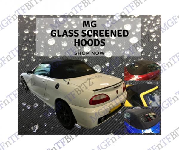 MGF MG TF Glass Screen Hoods at MGFnTFBITZ