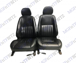 MG MGF MK1 Black Full Leather Seats