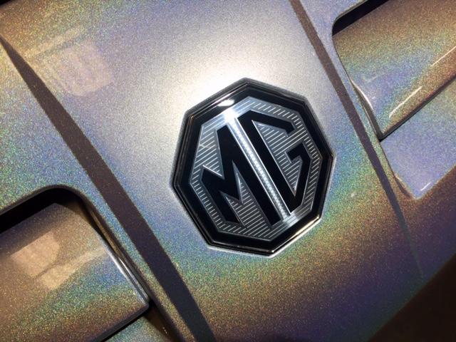 MG TF 160 Momogram Moonshine Rainbow Flip Paint Front Bumper at MGFnTFBITZ Glossop