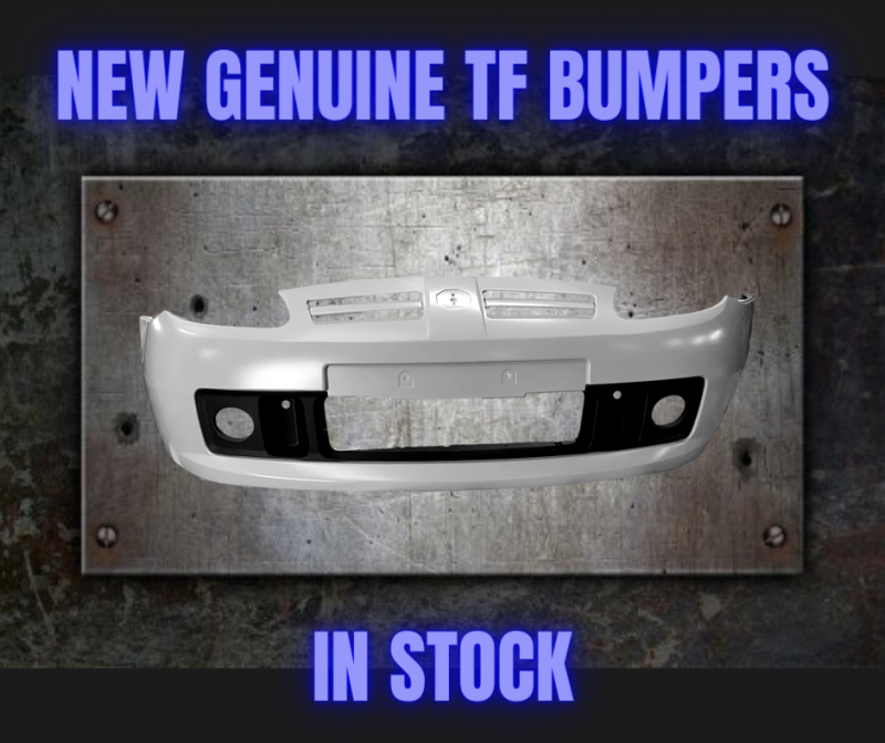 MG TF Front Bumper in Primer DPC000770LML in stock at MGFnTFBITZ Glossop