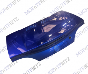 MG TF Trophy Blue Boot Lid JFV