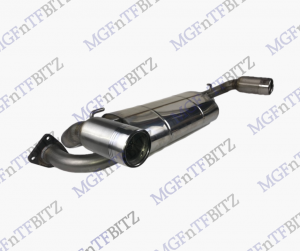 MG TF standard Stainless Exhaust at MGFnTFBITZ