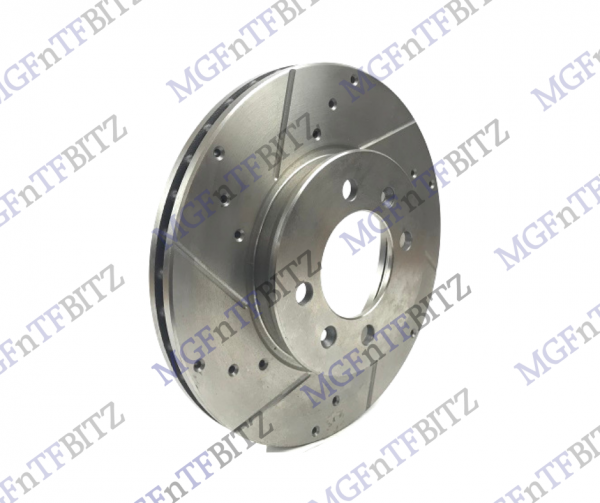 304mm Drilled Grooved Discs