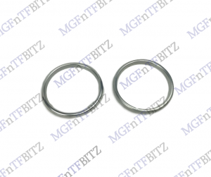 MGF MG TF Alloy Gauge Surround Rings