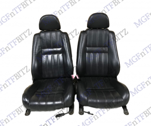 MG Black Leather Seats