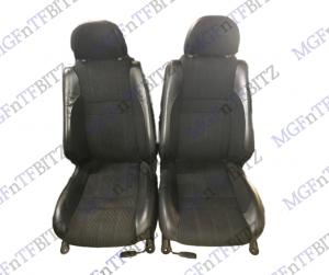 Daytona Half Leather Seats