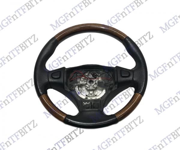Genuine Wood Steering Wheel