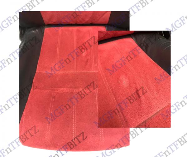 Red & Black Alcantara Seats