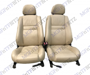 MG TF Oxford Leather Seats in Champagne