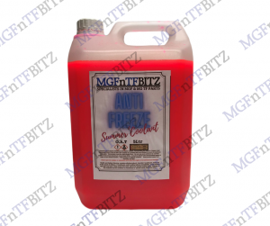 MGF MG TF LE500 Red OAT Anti Freeze Coolant 5ltr at MGFnTFBITZ