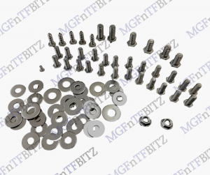 MGF MG TF LE500 Under Bonnet Stainless Steel Bolt Pack Underbonnet at MGFnTFBITZ