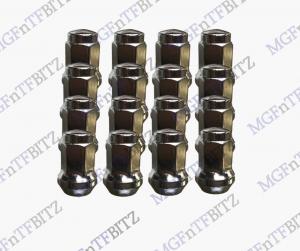 MGF MG TF LE500 Wheel Nuts full set aftermarket solid cone shape at MGFnTFBITZ