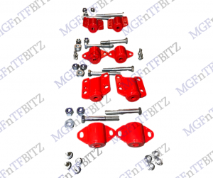 Red Subframe Mount Set