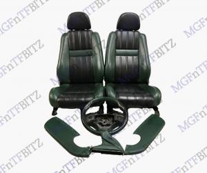 Green Black Leather Seats