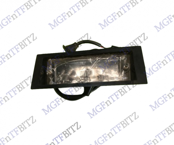 Rear Number Plate Light