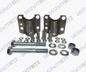 MGF MG TF Stainless Rear Subframe Mounts KGE000071 with bolts Front Rear Subframe at MGFnTFBITZ
