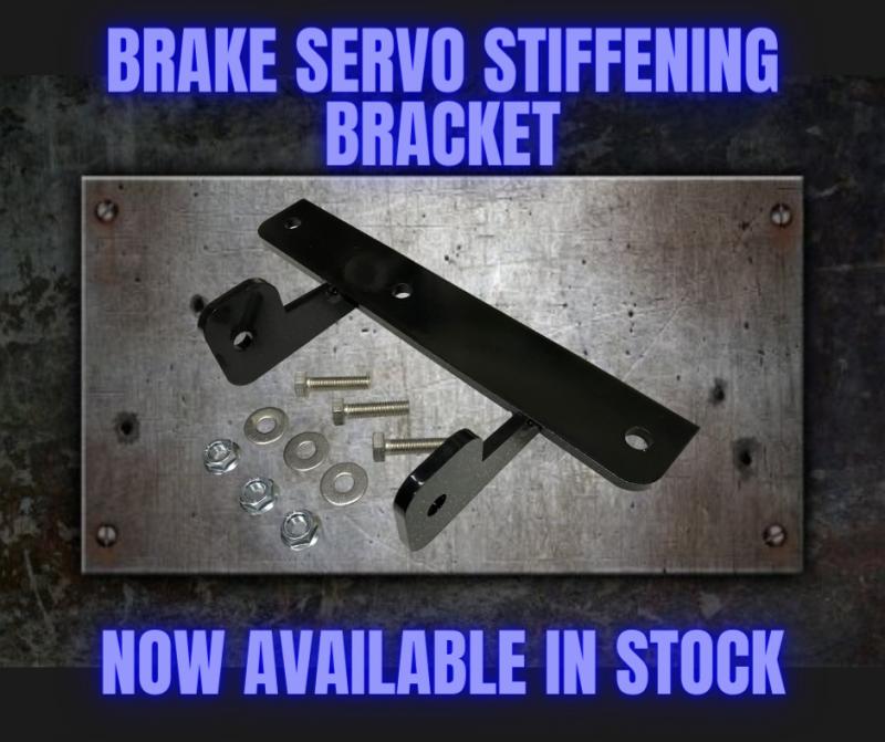 MGF MG TF Uprated Brake Servo Brackets now available from MGFnTFBITZ