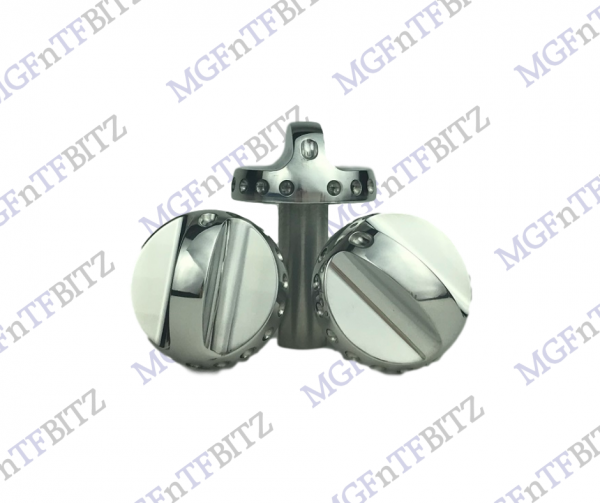 Alloy Heater Control Knobs