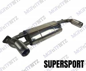 MGF MK2 / MG TF Supersport Stainless Performance Exhaust
