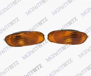MGF Pair NS LH + OS RH Front Amber Orange Indicators XBD100651 XBD100641 at MGFnTFBITZ