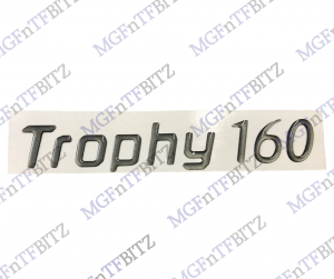 Trophy 160 Rear Badge