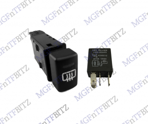 Heated Rear Window Switch & Relay