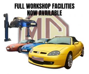 Full Workshop Facilities at MGFnTFBITZ