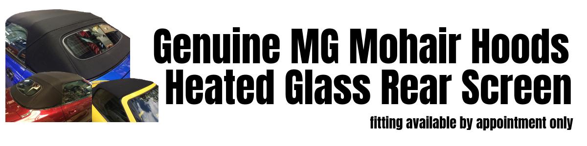 Glass Screened Hoods at MGFnTFBITZ