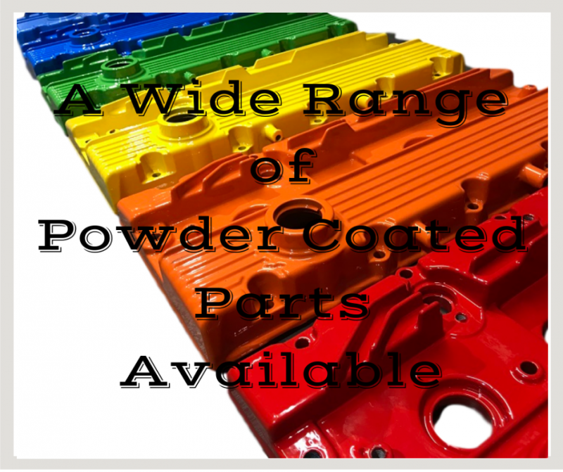 Powder Coated Accessories