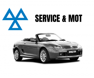 Service & MOT at MGFnTFBITZ