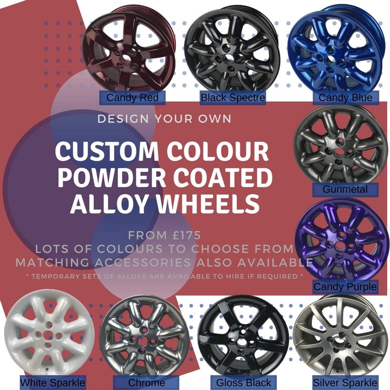 Custom Powder Coated Alloy Wheels & Accessories