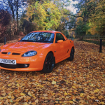LE500 in the autumn leaves MGFnTFBITZ Customer Car
