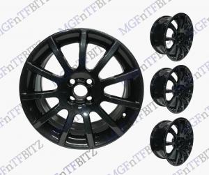MGF Trophy Alloy Wheels Black Sparkle