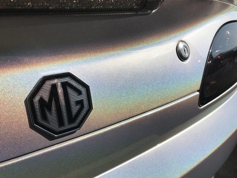 Rare MG TF 160 Moonshine Monogram 54 plate fully renovated at MGFnTFBITZ Glossop rear view close up