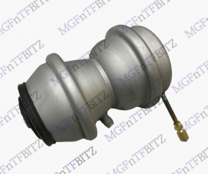 Single MGF Front Hydragas Unit in silver RNK100070 at MGFnTFBITZ