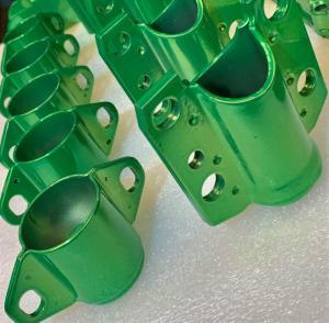 1.MG TF Candy Lime Green powder coated subframe mounts at MGFnTFBITZ