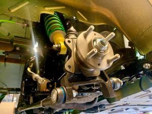 19.MG TF Monogram 160 Bittersweet Full rebuild - Rear Suspension starting to take shape - MG TF 160 Bittersweet Renovation at MGFnTFBITZ