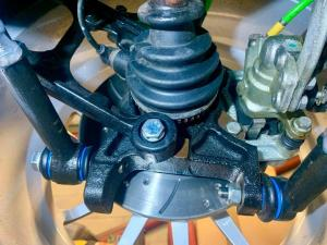 21.MG TF Monogram 160 Bittersweet Full rebuild - all new hubs calipers arms - MG TF 160 Bittersweet Renovation at MGFnTFBITZ