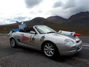 MGF at Inverness of Bust 2019 Rally