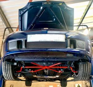 MG TF 135 Underbody Restoration.2 - Mr  Mrs K - Royal Blue JFM at MGFnTFBITZ