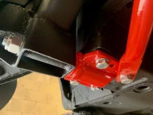 MG TF 135 Underbody Restoration - Mr  Mrs K - Royal Blue JFM at MGFnTFBITZ