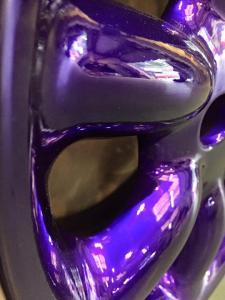Candy Purple powder coated alloy MGFnTFBITZ