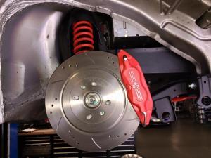MG TF Moonshine new AP 4pot calipers & discs at MGFnTFBITZ