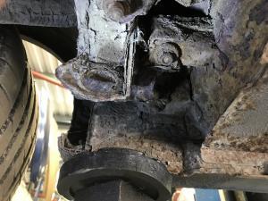 1 MG TF rear subframe corrosion at MGFnTFBITZ