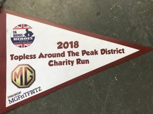 1.Topless Around The Peak District Charity Run 2018 sponsored by MGFnTFBITZ Glossop